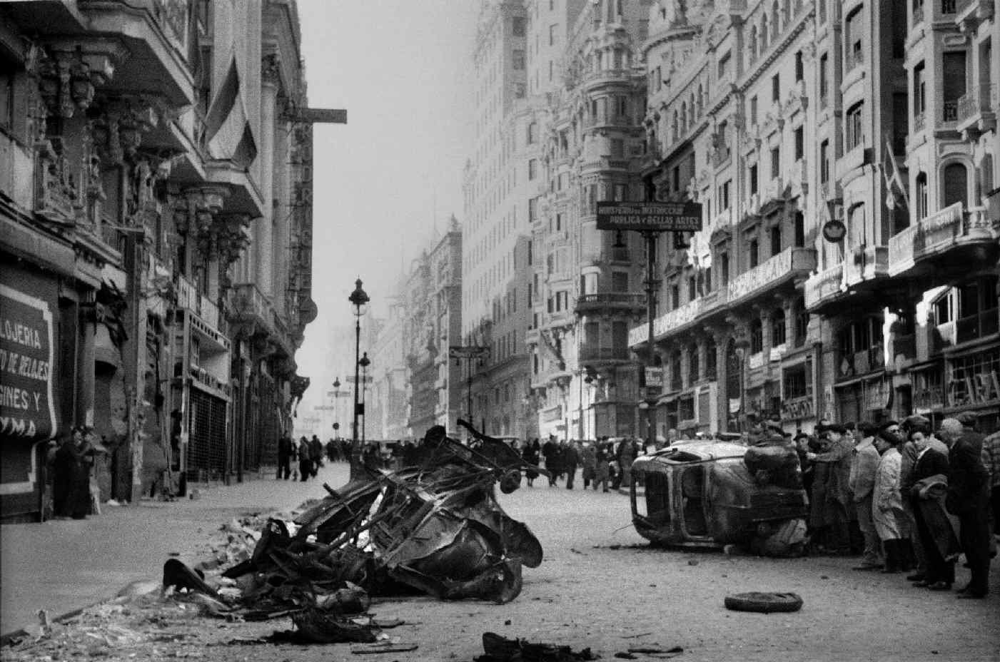 GRAN VIA AND ROAD TO CASTELLON: Two short plays